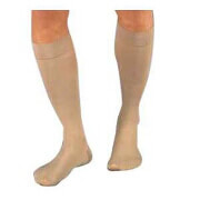 BSN Jobst® Unisex Relief Knee-High Extra Firm Compression Stockings, Closed Toe, Large, Beige