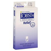 BSN Jobst® Unisex Relief Knee-High Extra Firm Compression Stockings, Closed Toe, Medium, Beige