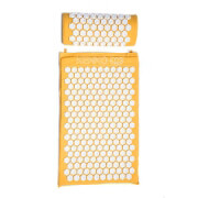 Kenko Gold Acupressure Mat with Pillow