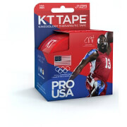"KT Tape Pro Red Team USA, 4"" x 4"""