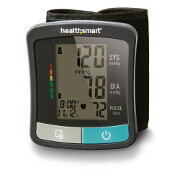 HealthSmart Standard Series LCD Wrist Digital Blood Pressure Monitor