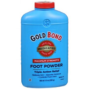 Gold Bond Triple Action Medicated Foot Powder, 10 oz