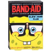 Band-Aid Children's Adhesive Bandages, SpongeBob Assorted, 20 ea