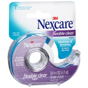 Nexcare First Aid Tape with Dispenser, Flexible Clear, 3/4 in. x 252 in. , 1 ea