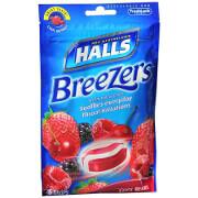 Halls Fruit Breezers, Cool Berry, 25 ea