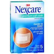 Nexcare Soft Cloth Premium Adhesive Pad 2 3/8' x 4', 5 ea