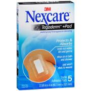 Nexcare Absolute Waterproof Premium Adhesive Pad 2 3/8' x 4', 5 ea