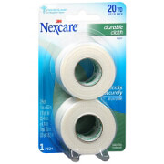 Nexcare Tape, Durable Cloth, 1' x 360' Rolls, 2 Pack
