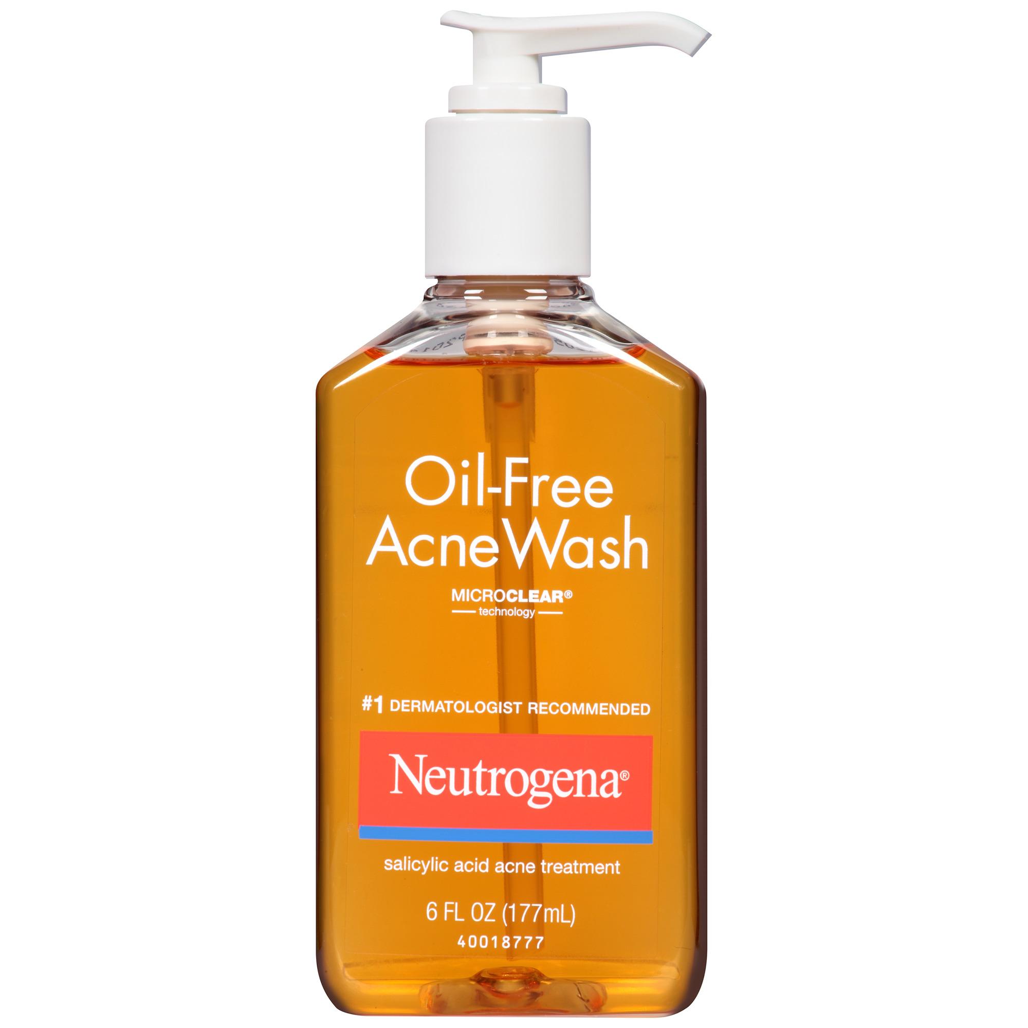 Neutrogena Oil Free Acne Wash With Salicylic Acid 6oz Fsastore Com