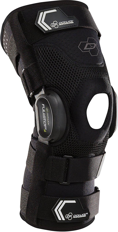 1dbc7120da DonJoy Performance Bionic FullStop Knee Brace, Black, Large ...