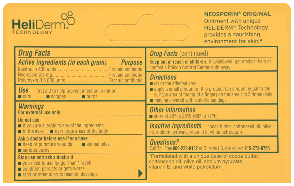 Neosporin Antibiotic Ointment, 24-Hour Infection Prevention,  5 oz