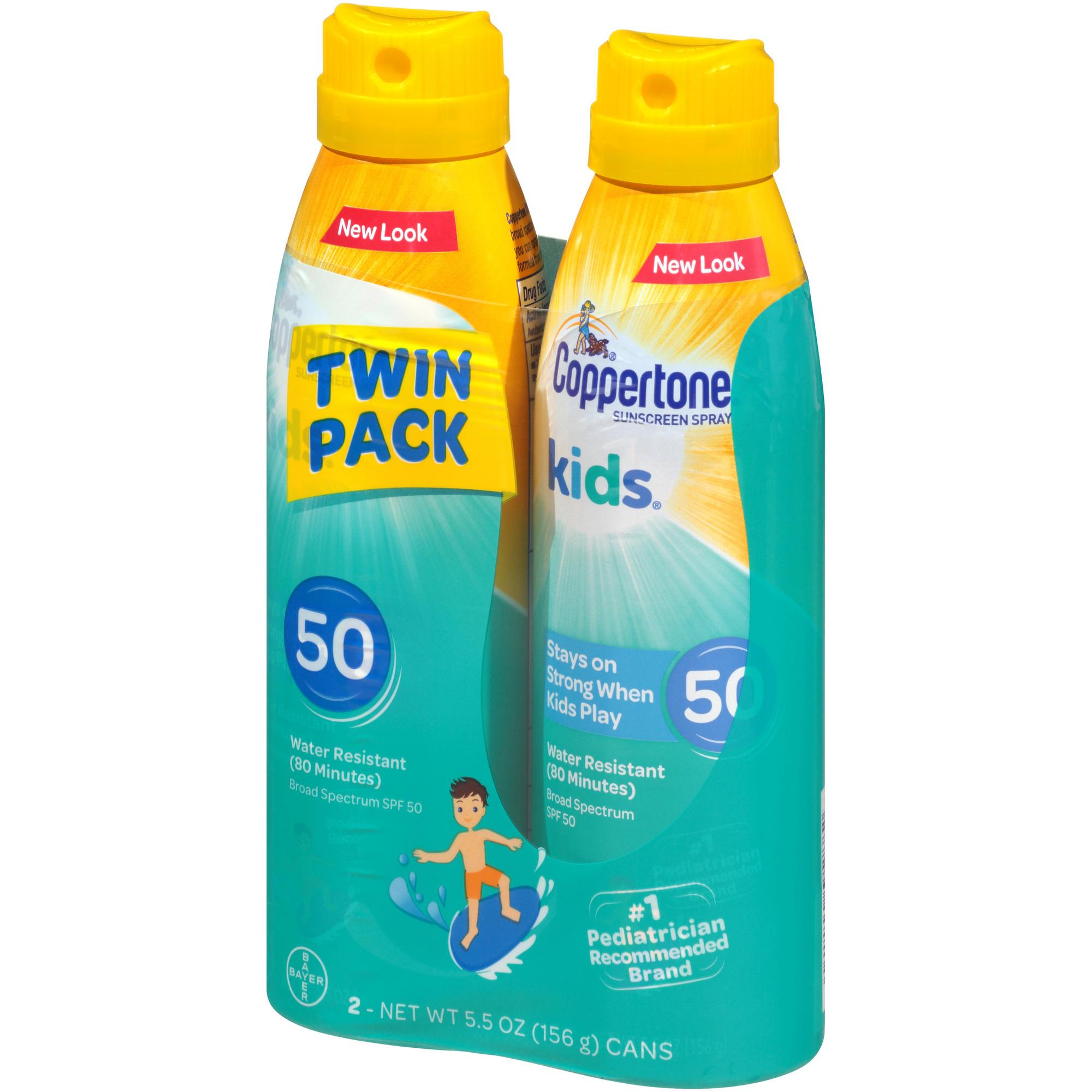 bdad8252c54ce Coppertone® Kids® Broad Spectrum SPF 50 Sunscreen Spray 2-5.5 oz ...