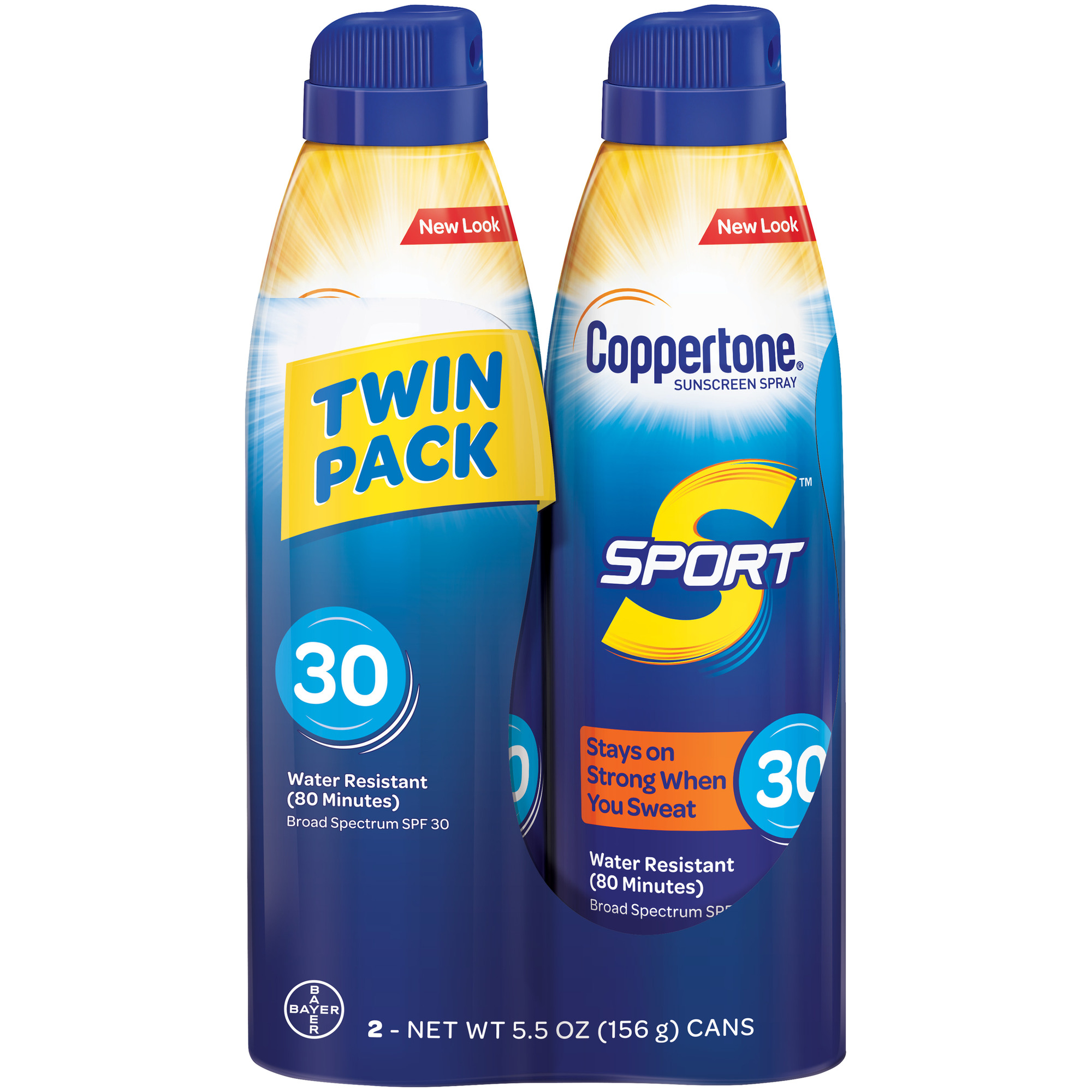 a271a4f82190 Coppertone Sport Continuous SPF 30 Spray Twin Pack, 2-5.5 oz. Cans