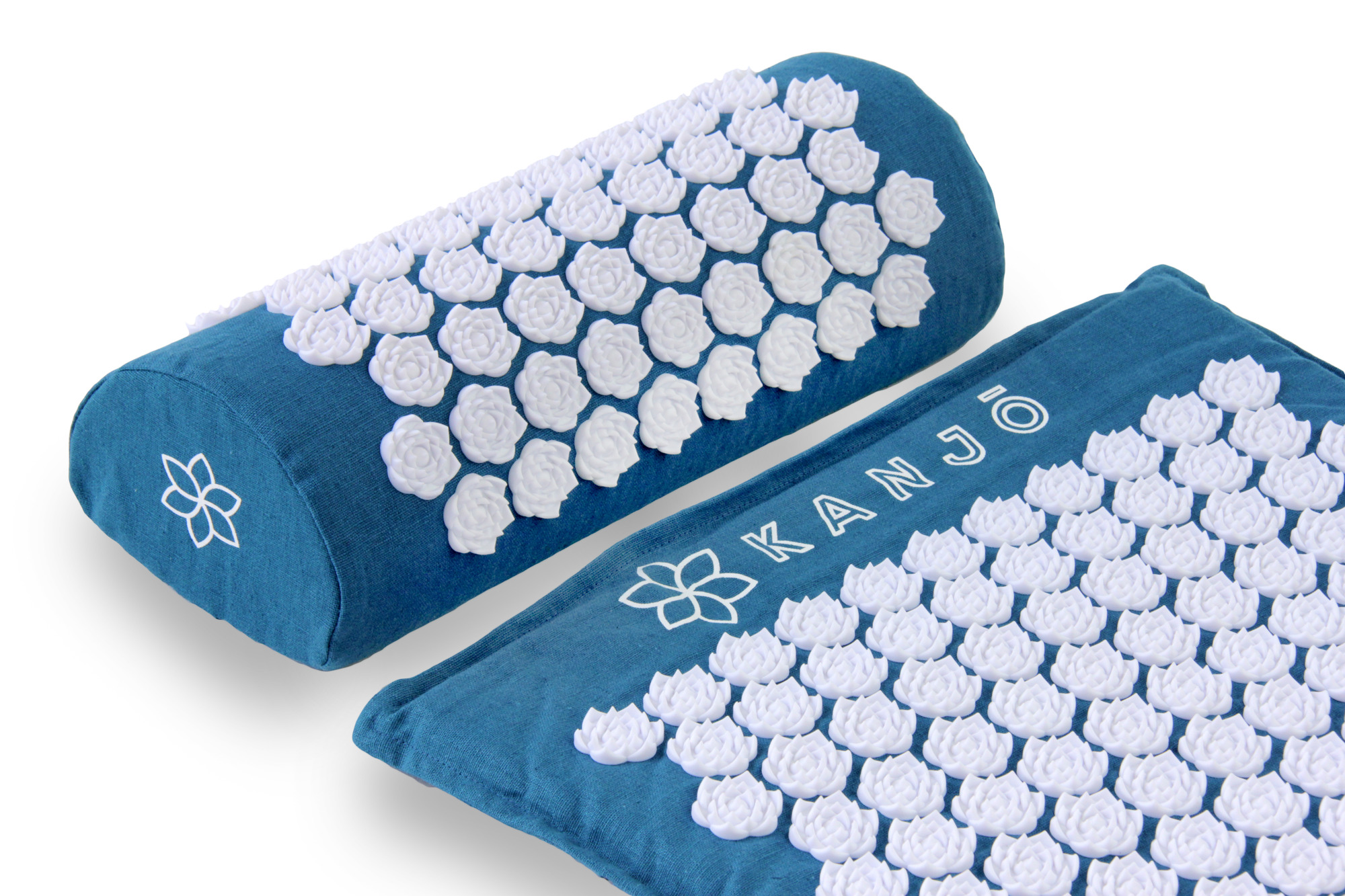 Kanjō Memory Acupressure Mat Set With Pillow Sapphire