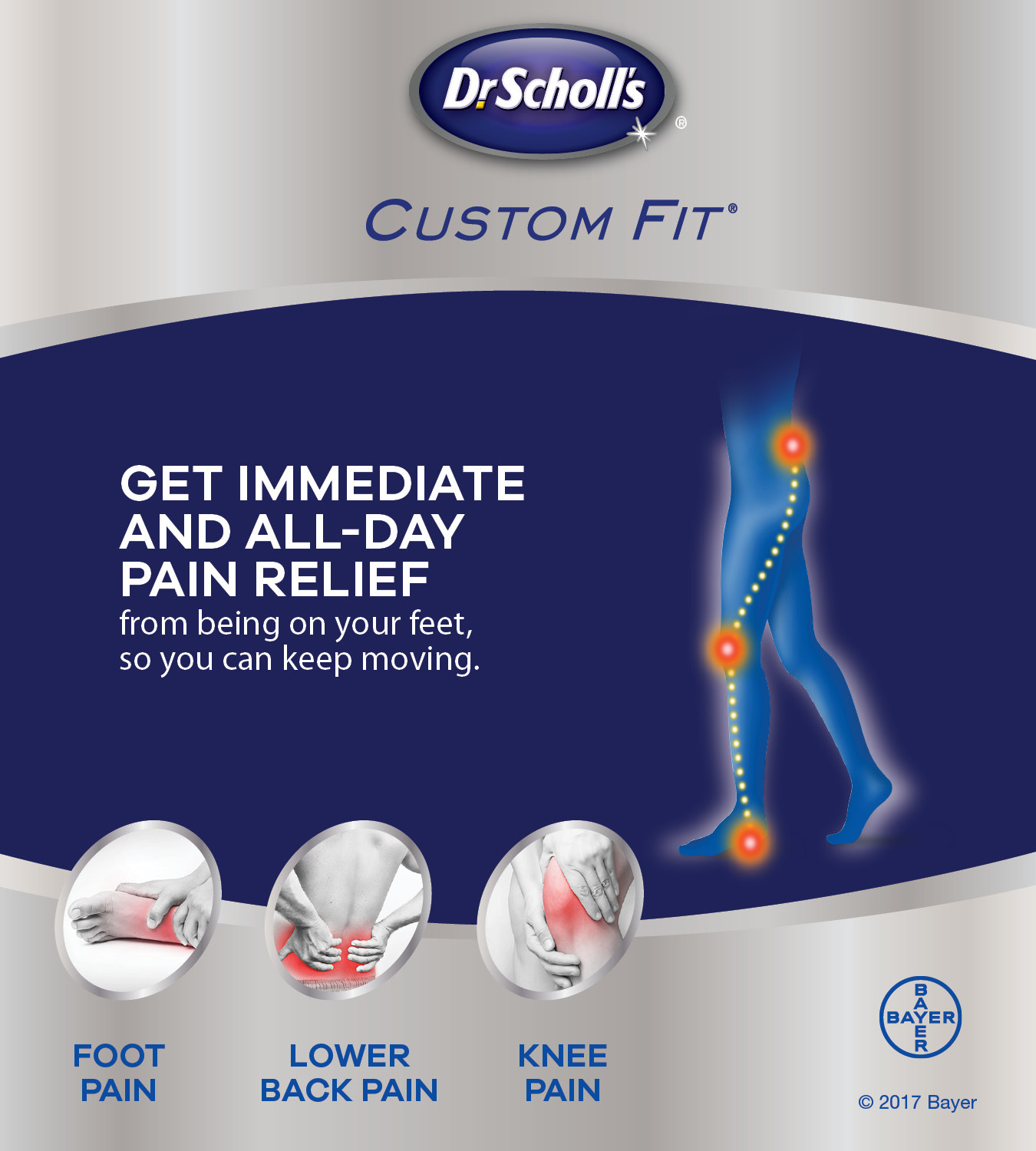 Dr Scholls Foot Mapping Kiosk Locations on