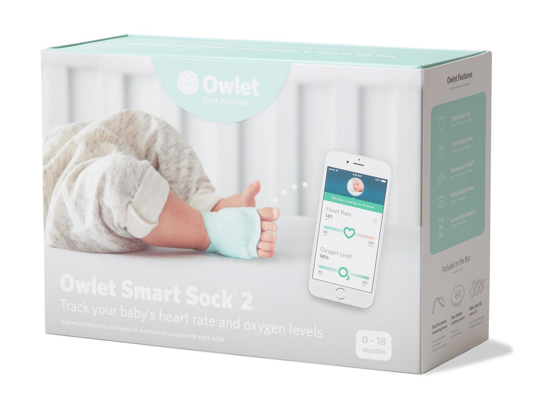Owlet Smart Sock 2 Baby Monitor Hsastore Com