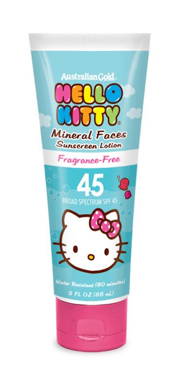 Hello Kitty Spf 45 Mineral Face Lotion 3 Fl Oz Fsastore Com