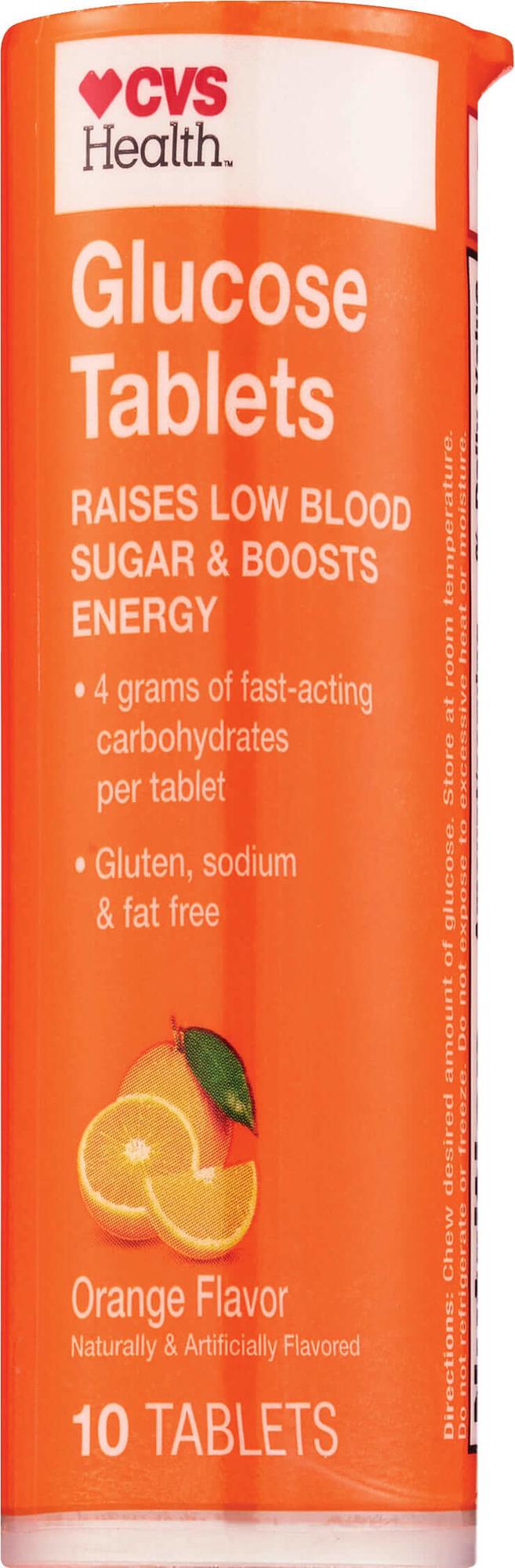 Cvs Health Gluocose Orange Tablets 10 Count Fsastore Com