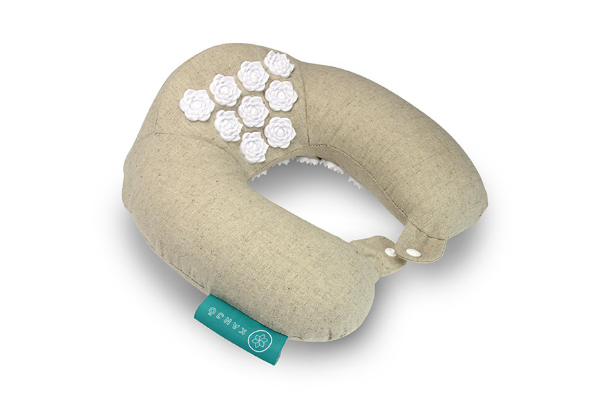 Kanjō Memory Foam Acupressure Neck Pillow Fsastore Com