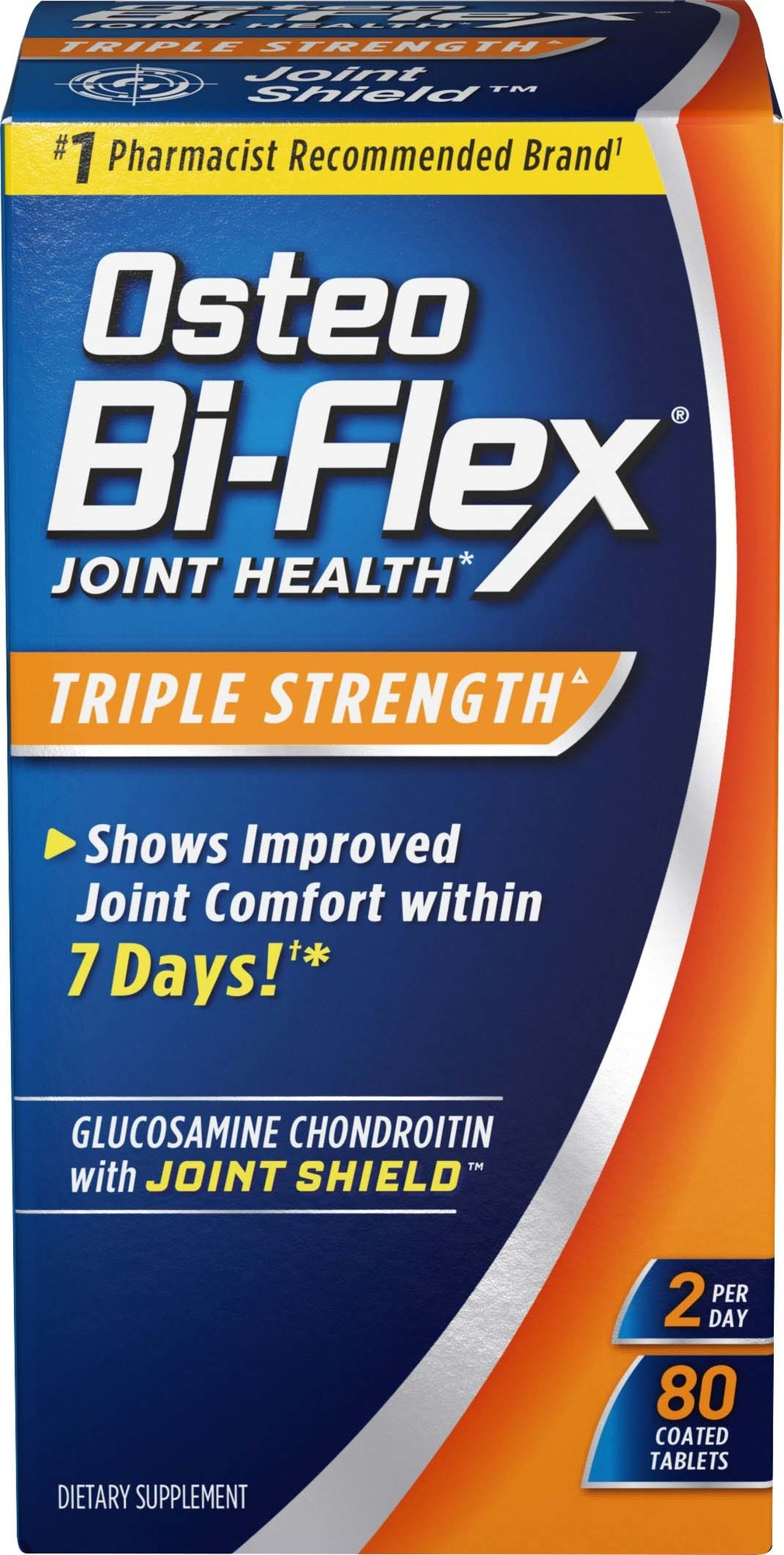 Osteo Bi-Flex Triple Strength Coated Tablets, 80 Ct
