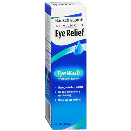 Bausch and Lomb Advanced Eye Relief Eye Wash, 4 fl oz 12165