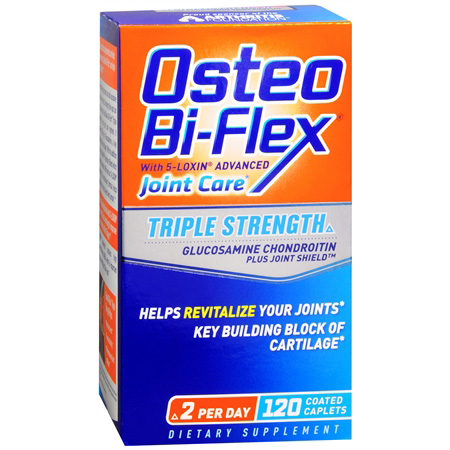 Osteo Bi-Flex Advanced Triple Strength Glucosamine Chondroitin MSM, Caplets, 120 ea
