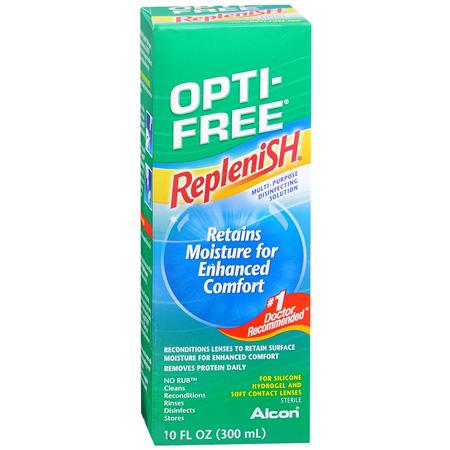 Opti-Free RepleniSH Multi-Purpose Disinfection Solution, 10 fl oz