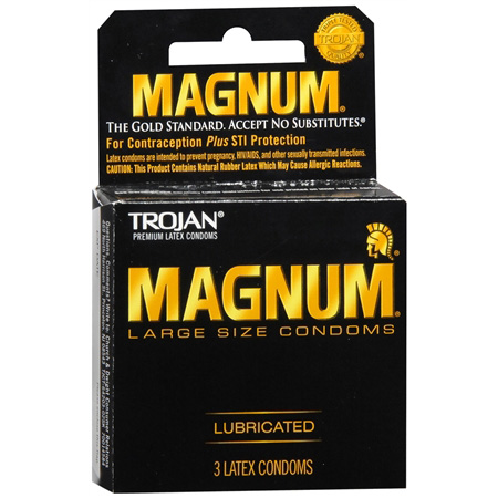Trojan Magnum Large, 3 ea 263846