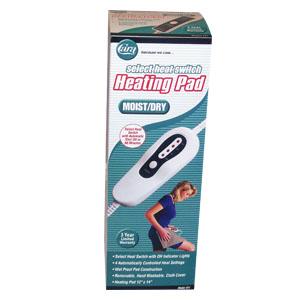 Cara Slide Switch Moist/Dry Heating Pad Model 51