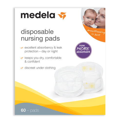 Medela Disposable Nursing Bra Pads, 60 ea | FSAstore.com