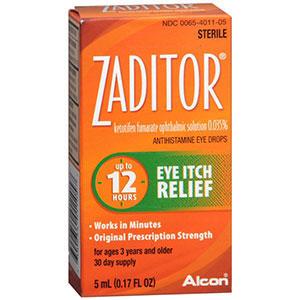 Zaditor Zaditor Eye Itch Relief Drops, 0.17 oz
