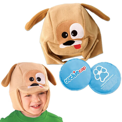 Cool Gel N Cap Kids Ice & Heat Packs/ First Aid Cap - Toby The Puppy