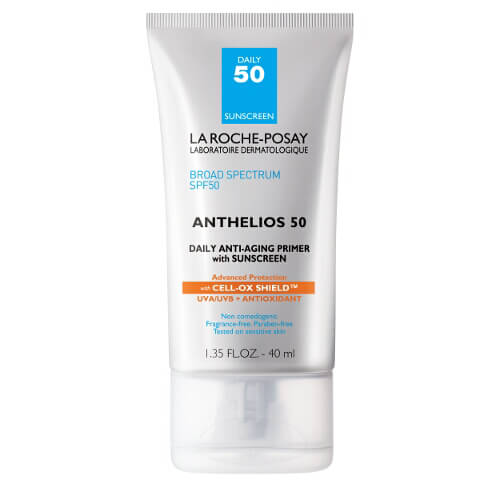 La Roche-Posay Anthelios 50 Daily Anti-Aging Primer Face Sunscreen, SPF 50 with Antioxidants, 1.35 Fl. Oz.