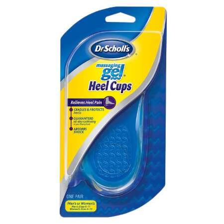 Dr. Scholl's Massaging Gel Heel Cup, Medium, 1 pair 422970