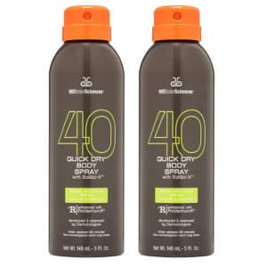 MDSolarSciences Sport Spray Duo SPF 40
